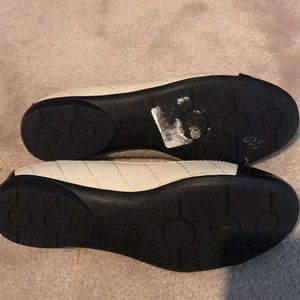 whitemt Shoes - Macys whitemt flats  creme and black all man made.